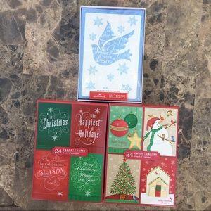 Hallmark 3 Christmas Card Sets (Multi Design)
